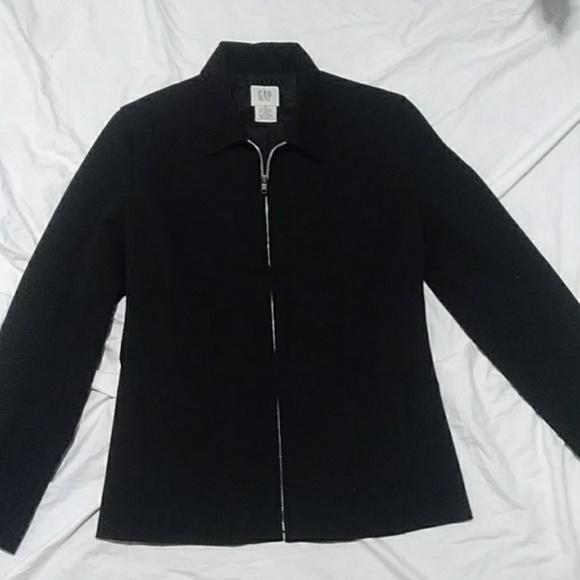 GAP Jackets & Blazers - Gap black jacket